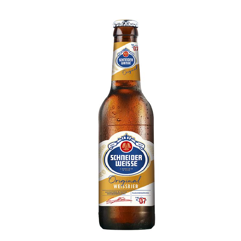 Schneider Weisse TAP 7 Mein Original 【シュナイダー・ヴァイセ・オリジナル】 330ml瓶×24本入