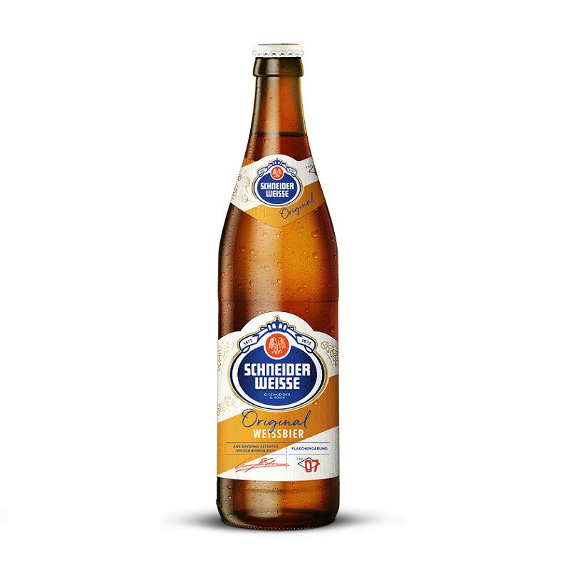 Schneider Weisse TAP 7 Mein Original【シュナイダー・ヴァイセ・オリジナル】 500ml瓶×20本入
