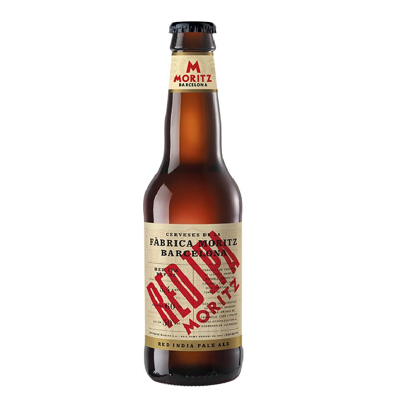 スペインビール MORITZ RED IPA【モリッツ レッドIPA】 330ml瓶×24本入り