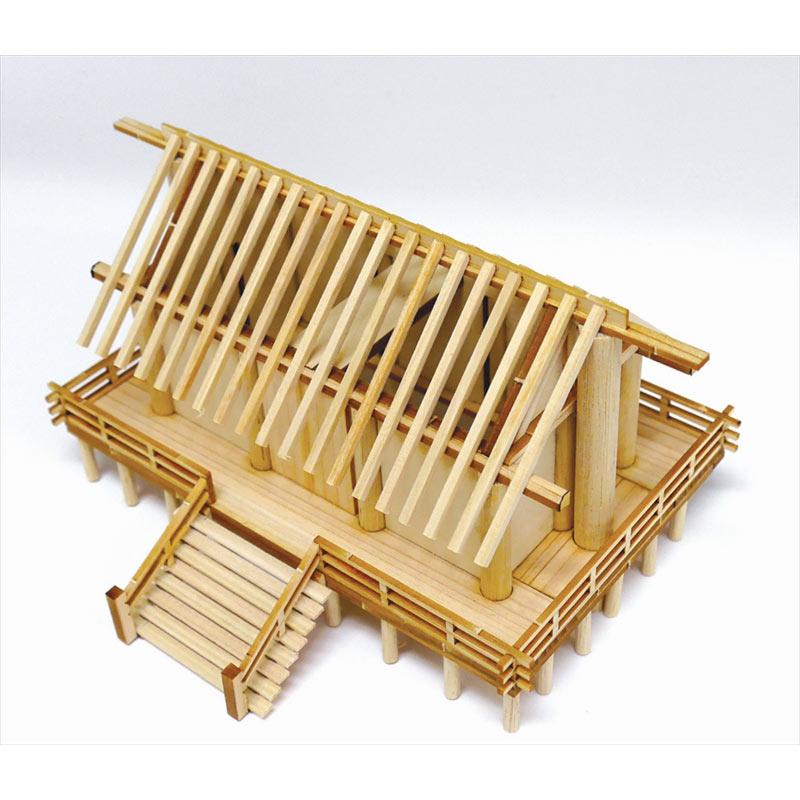 WDJ-027 ウッディジョー/1/150 神明造り 神社