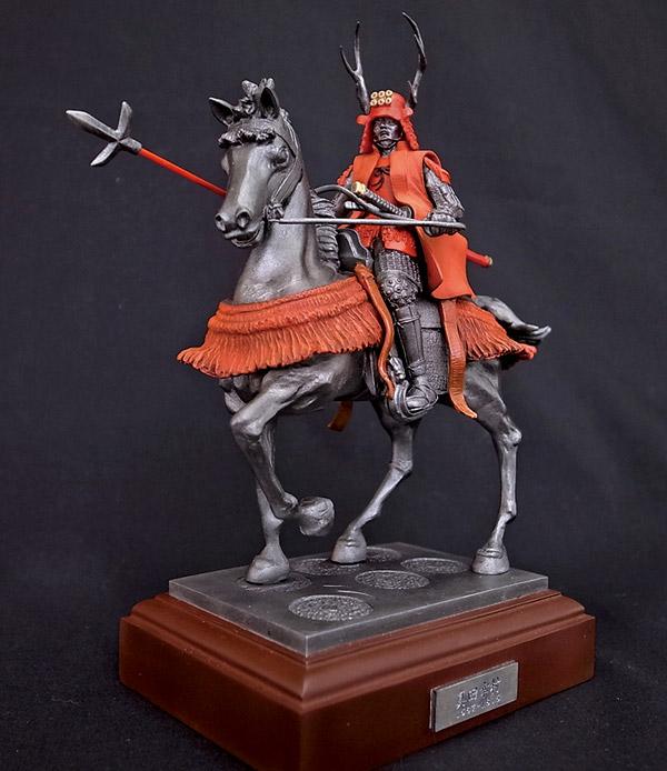 FIG-038 ヒストリカルフィギュア 真田幸村(騎馬像)