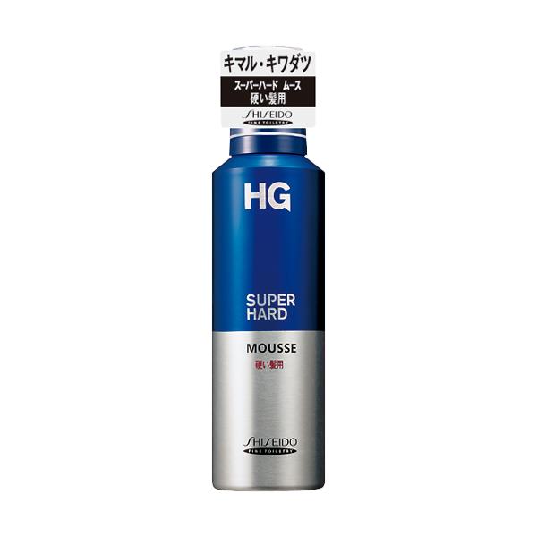資生堂 HG スーパーハードムース 硬い髪用a 180g
