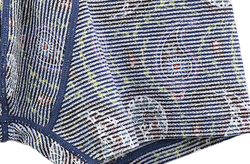 包帯パンツ メンズ RUGGED STYLE 前とじ ショート ボクサーパンツ SIDO ペルシアンペーズリー