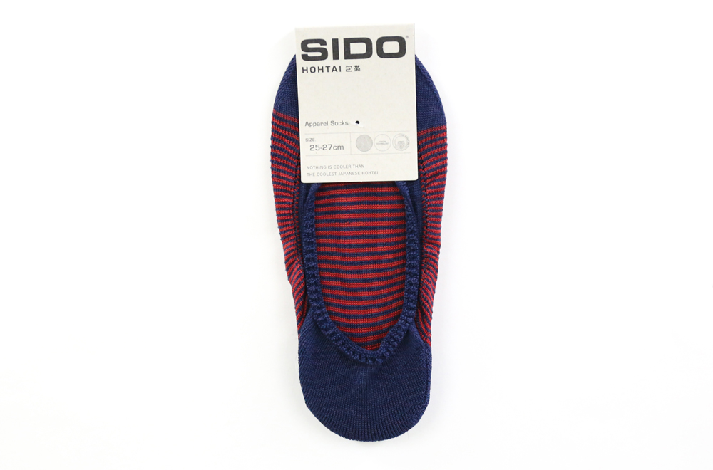 包帯フットカバー メンズ 靴下 SIDO ネイビー