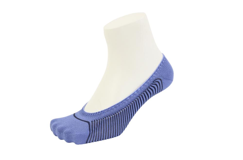 包帯フットカバー メンズ 靴下 SIDO ブルー