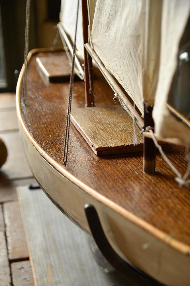 イギリス 1910'sポンドヨット
