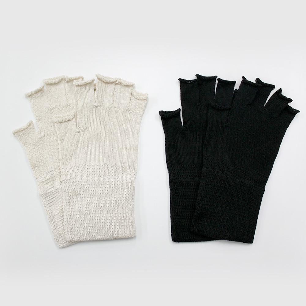 ハンドウォーマー 絹シルク95% SILK DE KYOTOオリジナル