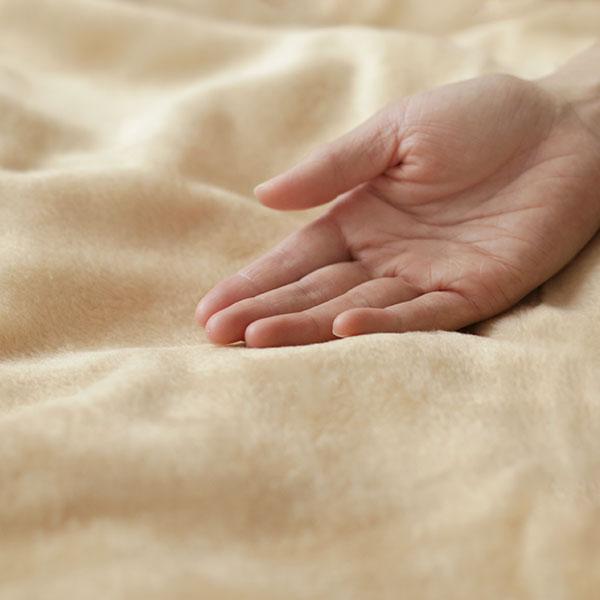 数量限定 なめらかシルク毛布ダブルサイズ