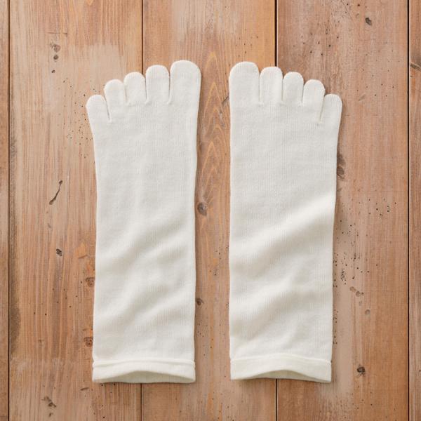 ウール100%5本指靴下 ストレスフリー