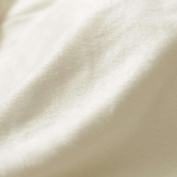 数量限定 襟元折返しゴールドライン付き高級シルク毛布 ダブルサイズ