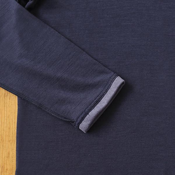 ベルガモット 8分袖インナー(縫い目外側)