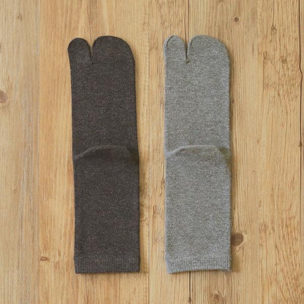 絹コットン足袋型ソックス