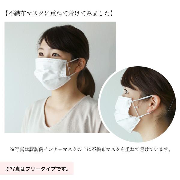 諏訪繭インナーマスク