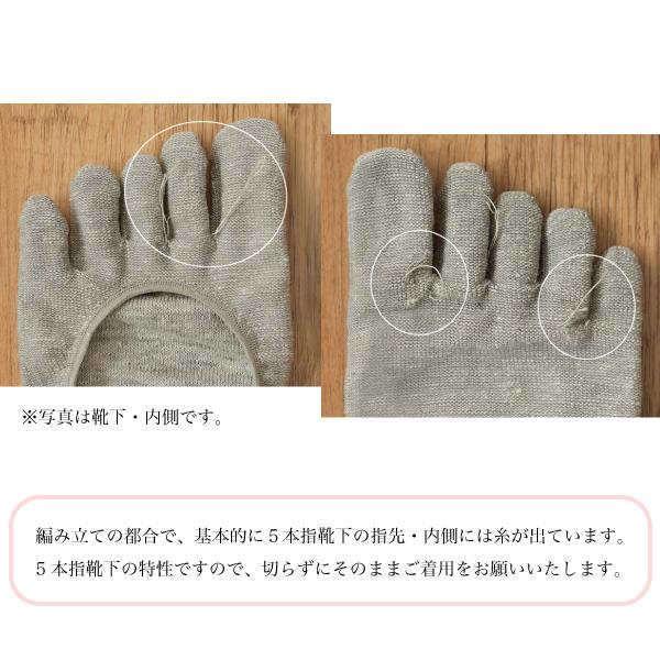 (リニューアル)絹リネン5本指フィットカバー