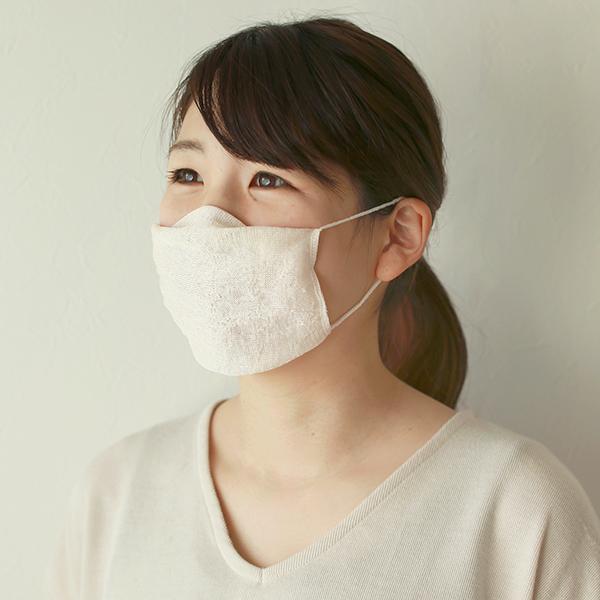 諏訪繭 涼しいマスク