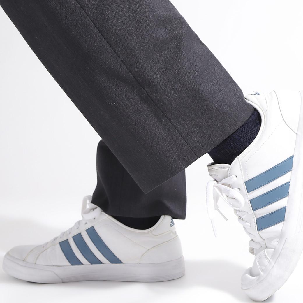 冷え取り靴下 絹木綿スクールソックス先丸
