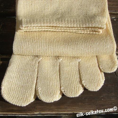 野蚕5本指・フリーサイズ