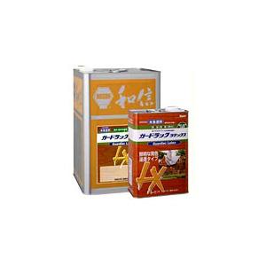 【水性】ガードラックラテックス 14kg 屋内屋外木部用水性木材保護着色剤ワシン【和信化学工業】