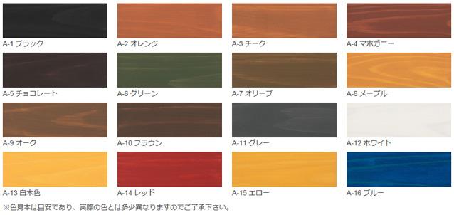 【水性】ガードラック アクア 14kg ワシン・屋内屋外水性木材保護着色剤【和信化学工業】