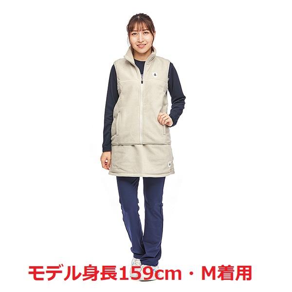 〈2021秋冬モデル〉女性用 フリース ベスト STW-12600