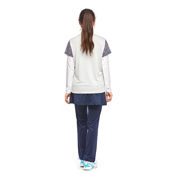 <2021秋冬モデル> STA-U03 スコート付き スリムフィットパンツ 吸汗速乾 UVカット2wayストレッチ