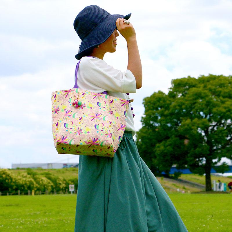 トートバッグ(ヤマトナデシコ)
