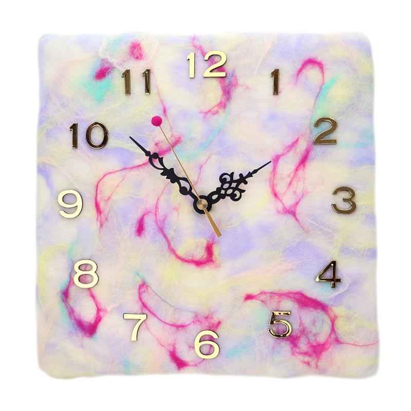 SIMSIM掛け時計(ホワイトベリー)