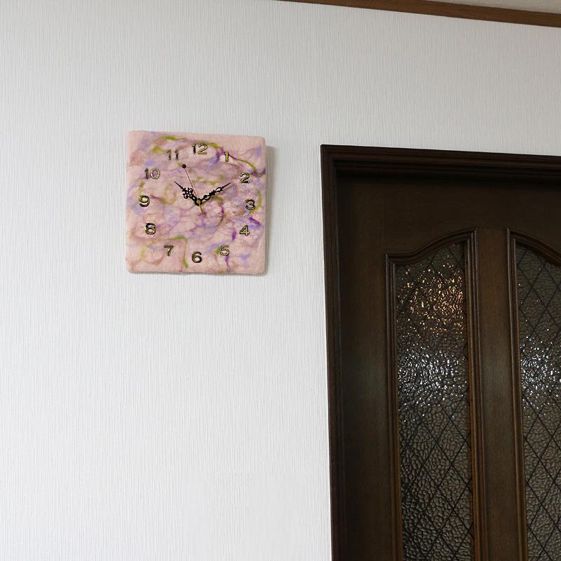 SIMSIM掛け時計(春霞はるがすみ)