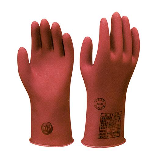 低圧用ゴム手袋【定番品】