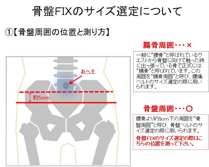 【腰痛防止】 骨盤固定バンド 『骨盤FIX』
