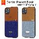 〈Kajsa / カイサ〉iPhone11 Denim collection denim pocket back case〈メール便OK〉〈メール便送料無料〉