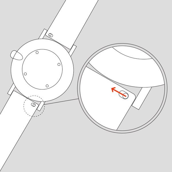 〈替えベルト KLASSE14/クラス14〉IMPERFECT SILICON BELT インパーフェクト シリコンベルト 14mm 20mm