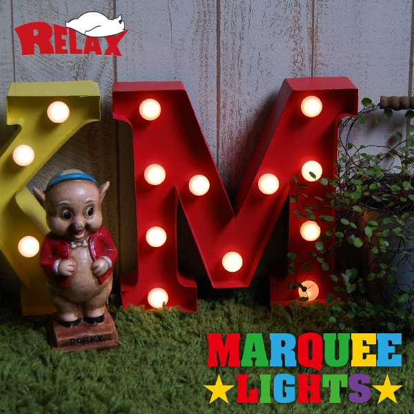 RELAX / リラックス マーキーライト MARQUEE LIGHT