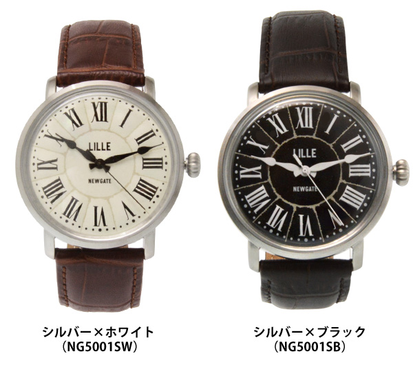 【NEW GATE/ニューゲート】 Lille 腕時計 アナログ メンズ レディース イギリス
