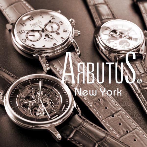 ARBUTUS New York 腕時計 AR1720SBB 機械式ムーブメント