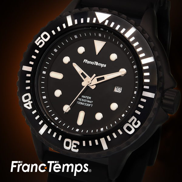 【Franc Temps】 Plongeur / プロンジュール2 ダイバーズウォッチ