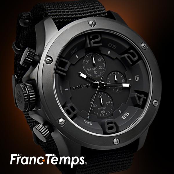 【Franc Temps】 Gavarnie / ガヴァルニ クロノグラフ