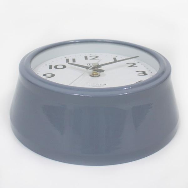 FAB WALL CLOCK ウォールクロック【Sサイズ】掛け時計 シンプル 連続秒針 静か