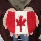 フラッグフェルトポーチ 国旗 小物入れ コスメ ウール アメリカ イギリス カナダ フランス イタリア ブラジル 南アフリカ おもしろ雑貨 プレゼント ギフト メール便OK