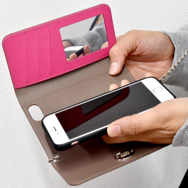 〈Kajsa / カイサ〉iPhone6/6s/7/8/X/XS スマホケース3fold wallet case