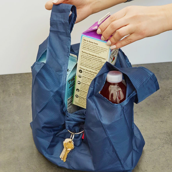 KIKKERLAND Key Ring Shopping Bag エコバッグ メール便OK