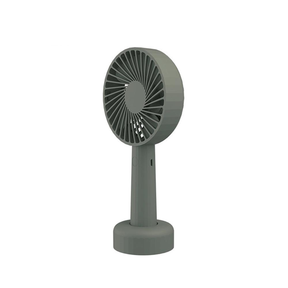 Mini Fan 手持ち SOLOVE バッテリー内蔵 2000mAh 充電式 3段階風量調節 携帯扇風機 送風機 スタンド付き 卓上 熱中症対策 コンパクト ポータブル 強風 おしゃれ 可愛い
