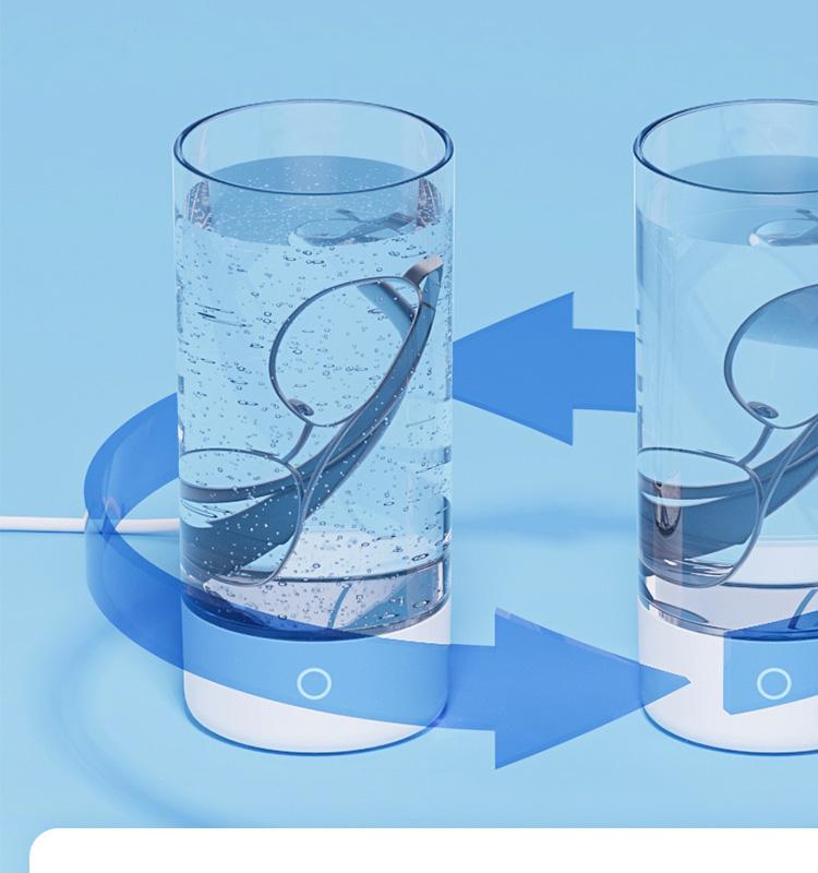360°から洗浄効果を確認!分離式洗浄槽・UV-C除菌と超音波を合わせた洗浄機!