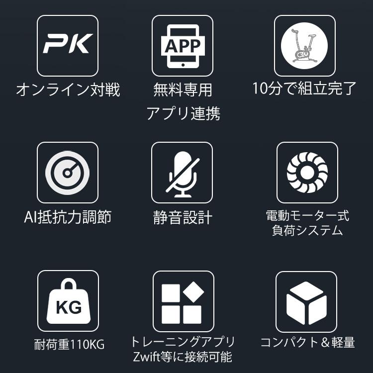 自宅でもアプリ連携で本格的&楽しくサイクルトレーニング|AIエクササイズバイク