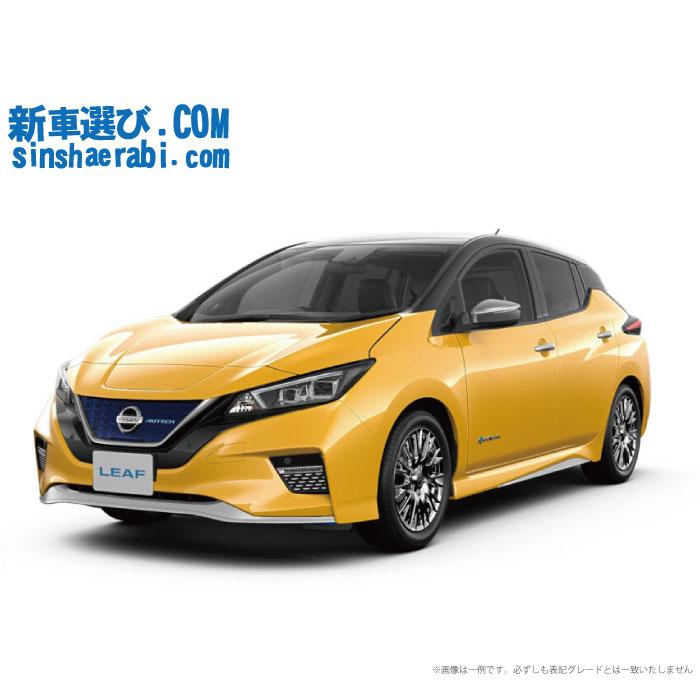 《新車 ニッサン リーフ 2WD e+ AUTECH 》<br>☆こちらの新車にはEV専用NissanConnectナビ・バックビューモニター・前後監視タイプ ドライブレコーダー・ETC・フロアマット・ドアバイザー・ボディコーティング・窓ガラスコーティングが標準装備されてます!