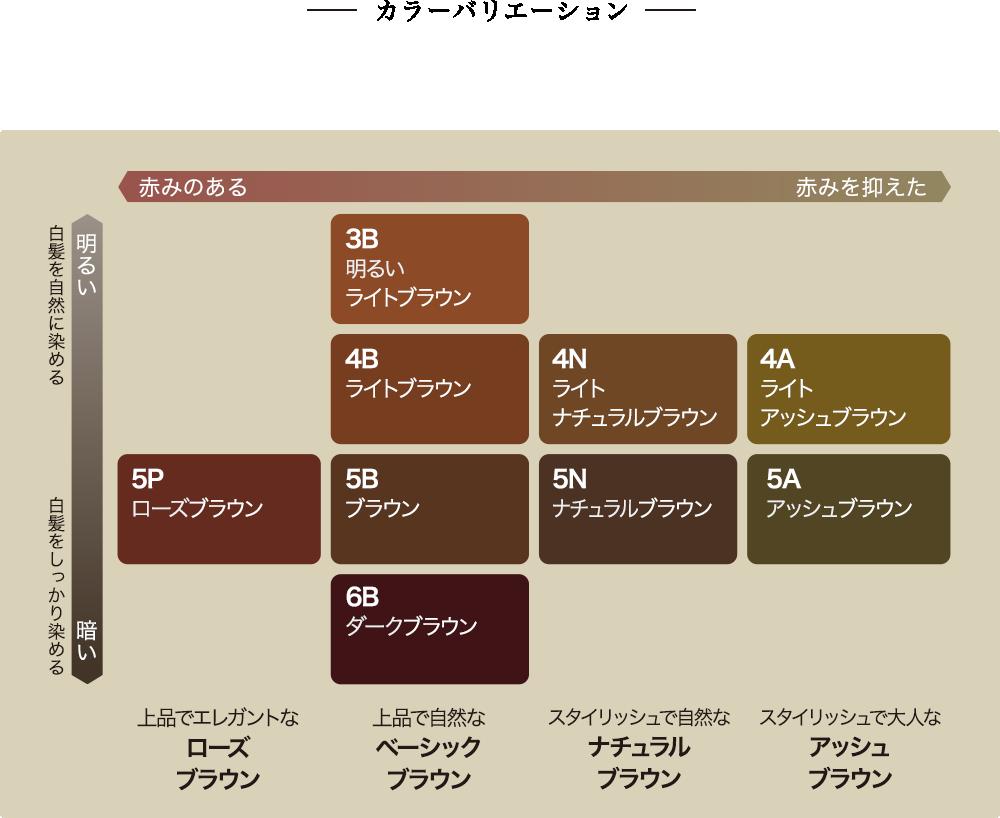 【カネボウ】エビータ トリートメントヘアカラー 5B(ブラウン)【医薬部外品】