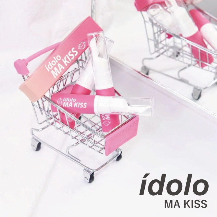 idolo(イドロ)「MISTINE IDOLO MA KISS」リップグロス タイコスメ タイドラマ俳優Kristがプレゼンター!