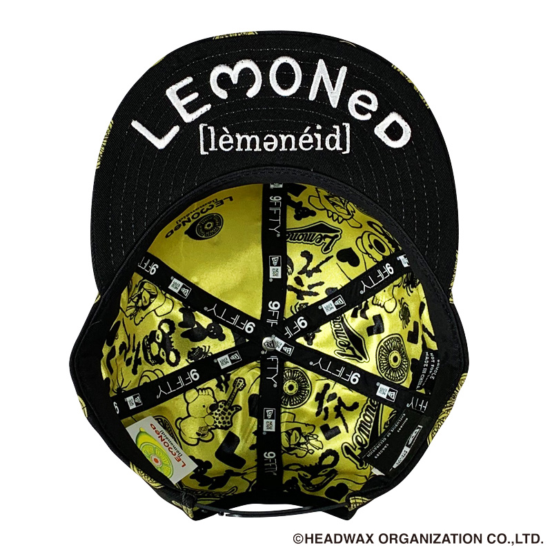 LEMONeD x NEW ERA® コラボレーションキャップ(数量限定)