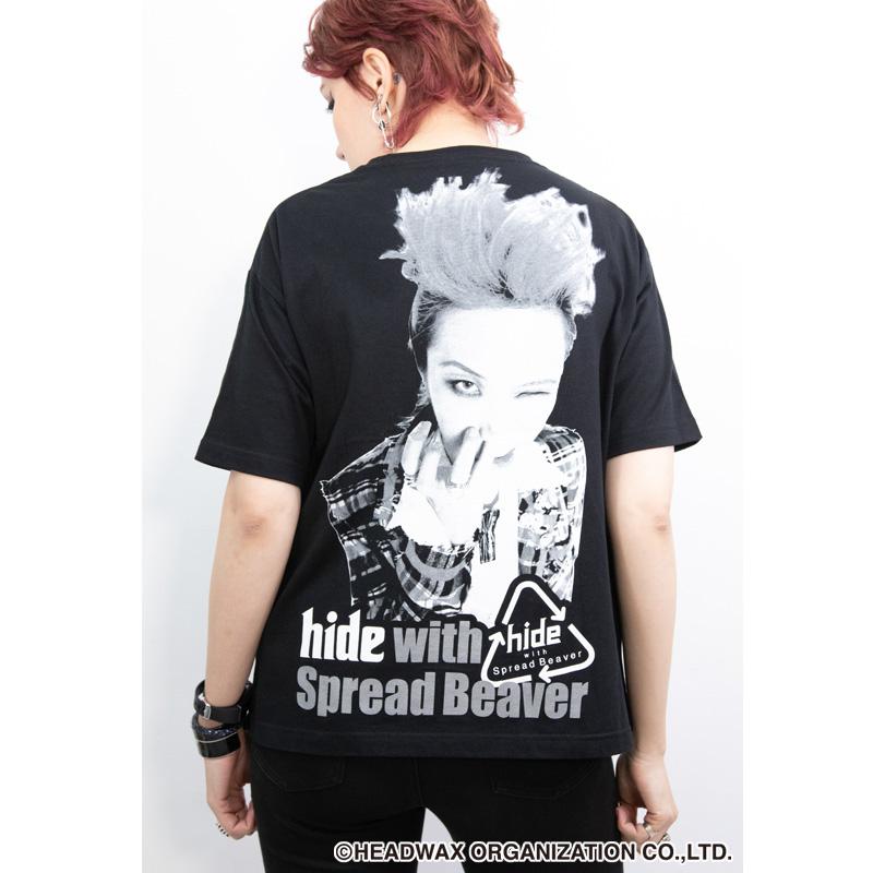 hide Birthday Party 2020 ビッグシルエットTシャツ(ブラック)