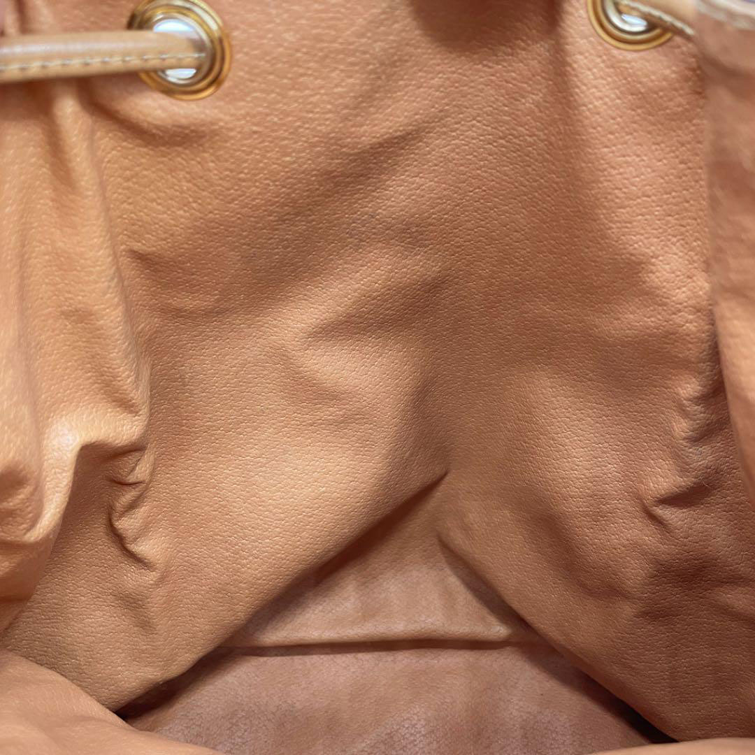 CELINE セリーヌ マカダム柄 リュックサック バックパック PVC レザー ブラウン系 M14